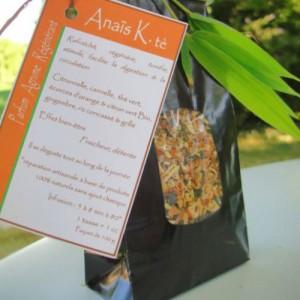 Thé artisanal parfum agrume